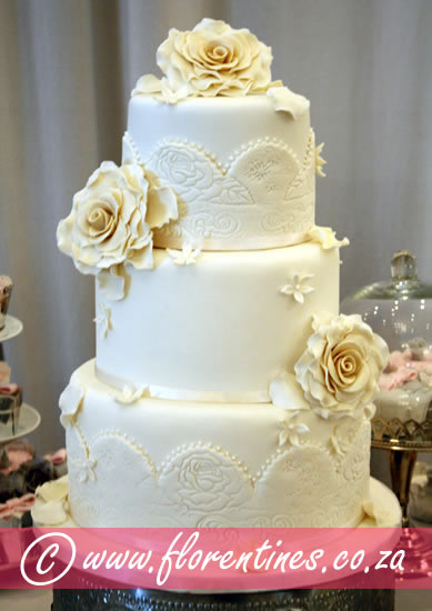 Iced Wedding Cakes At Florentines